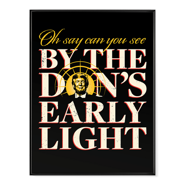 The Don's Early Light V2 - Poster