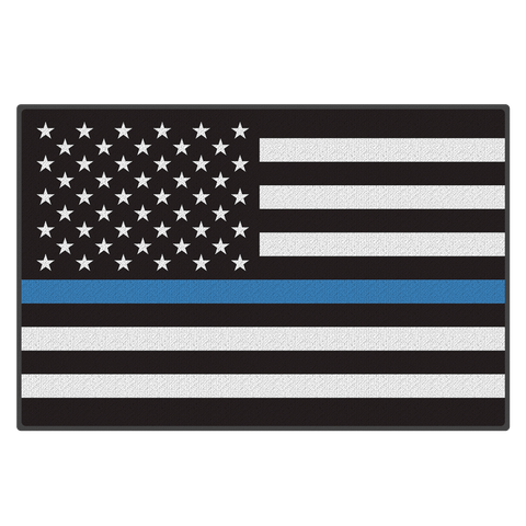 Thin Blue Line - Door Mat