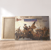 Canvas Trump Crossing Delaware - Canvas