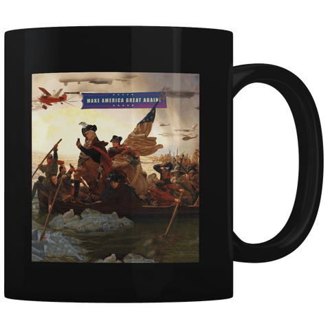 Trump Crossing Delaware - Coffee Mug