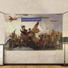 Trump Crossing Delaware - Wall Flag
