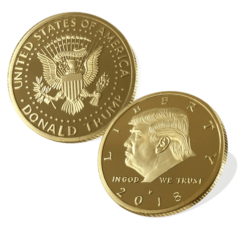 T4: Donald Trump Gold Coin