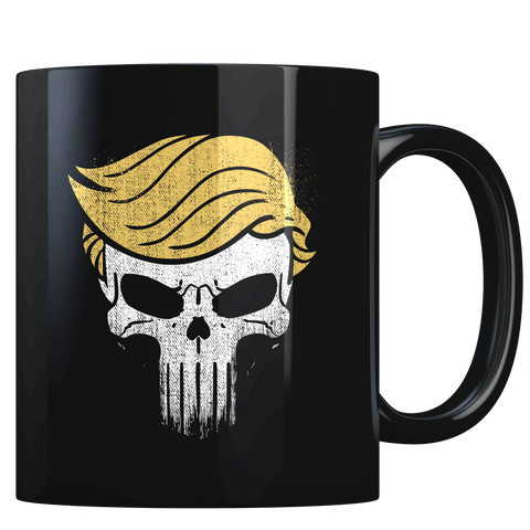 Trump Punisher (parody) - Coffee Mug