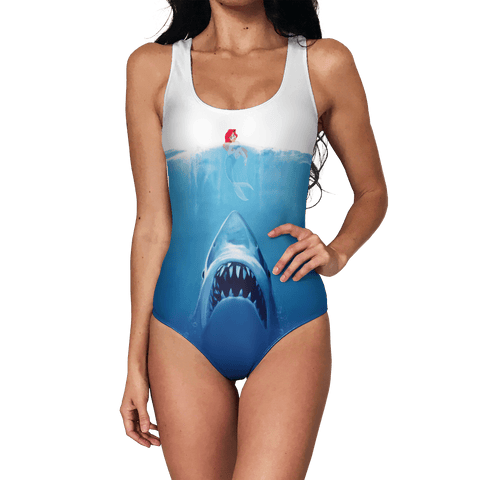 Ariel Vs. Shark Swimsuit
