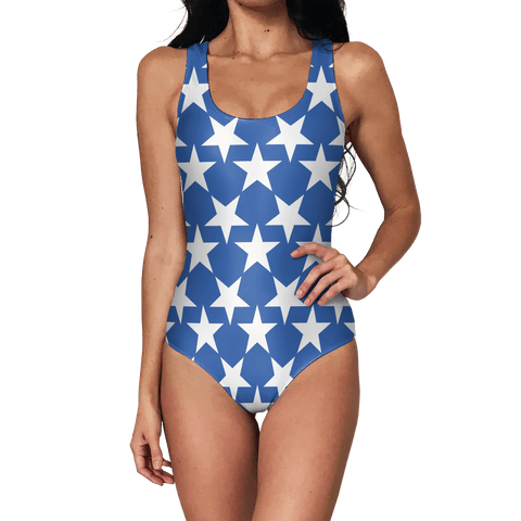 Blue Star Swimsuit