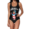 Merica Bear Swimsuit