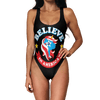 Believe in America Swimsuit - Modern