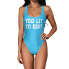 Too Lit To Quit Swimsuit - Modern