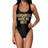 Margaritas Made Me Do it Swimsuit - Modern