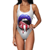Liberty Lips Swimsuit - Modern