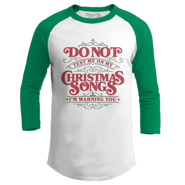 Christmas Songs Test (Ladies)