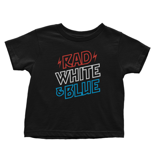 Rad White & Blue - Toddlers