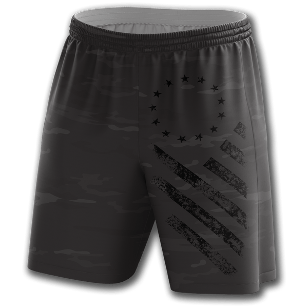 Midnight Camo Weekend Shorts