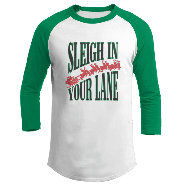 Sleigh in Your Lane - Kids