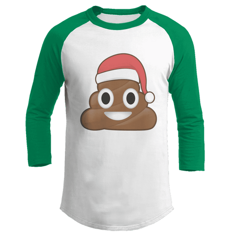 Christmas Poo Emoji - Kids