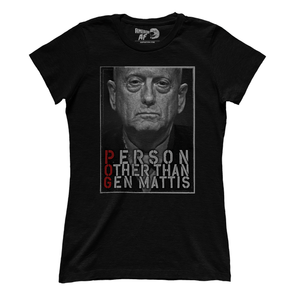 POG - Person Other than General Mattis (Ladies)