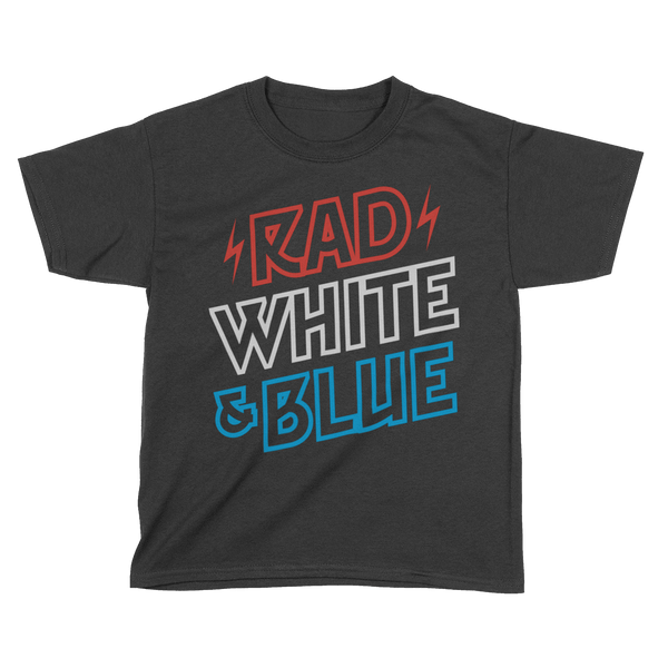 Rad White & Blue - Kids