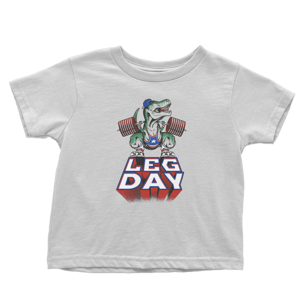Leg Day T-Rex - Toddlers