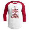 Keep Calm OMG Santa! (Ladies)