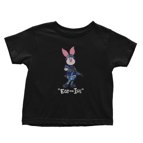 Eat Me ... Piglet - Navy - Toddlers