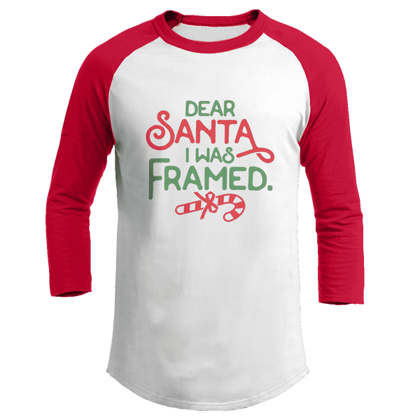 Dear Santa, I was Framed - Kids