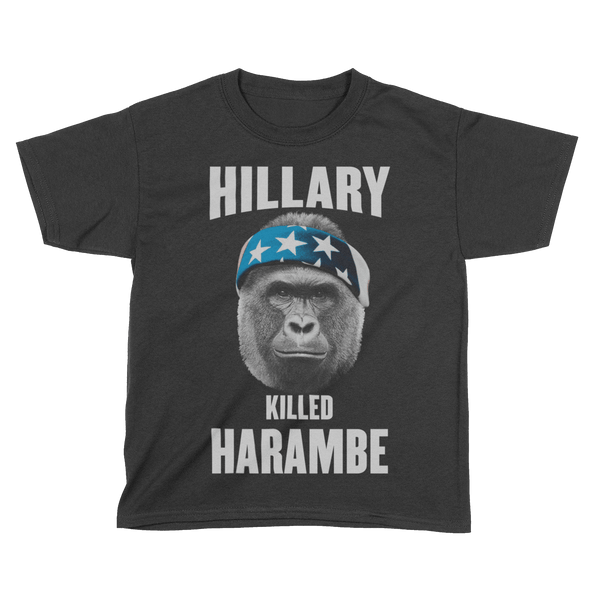 Hillary Killed Harambe - Kids