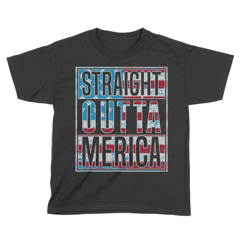 Straight Outta MERICA! - Kids
