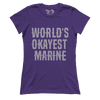 World's Okayest Marine (Ladies)