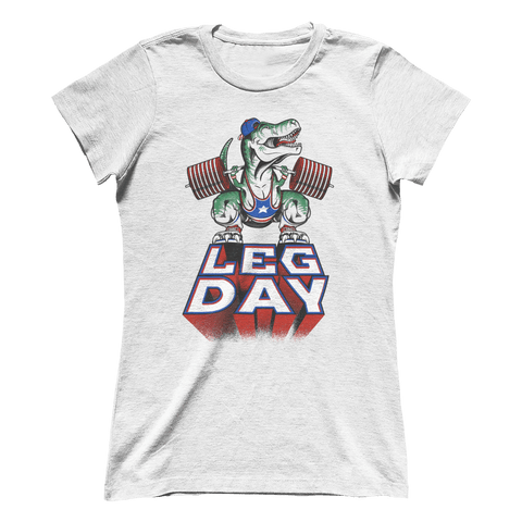 Leg Day T-Rex (Ladies)