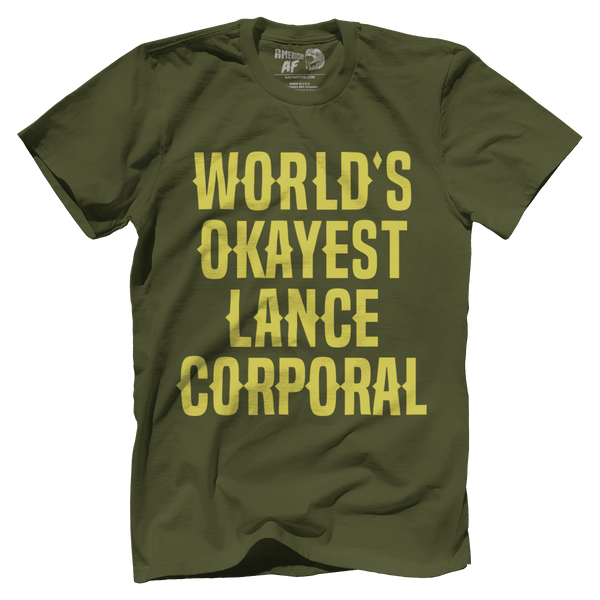 World's Okayest Lance Corporal