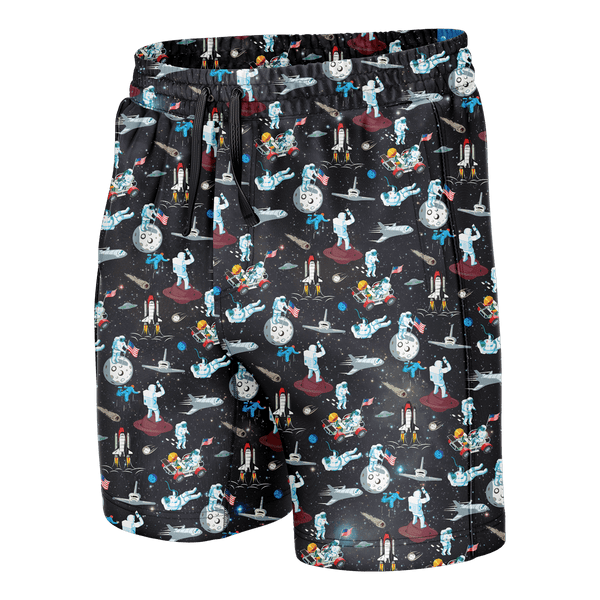 Space Swim Trunks