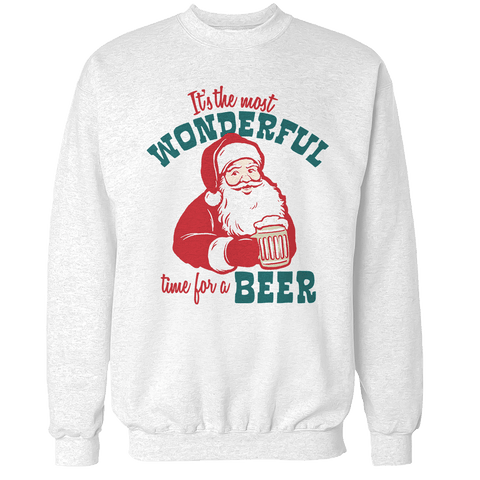 It's The Most Wonderful Time For A Beer V2 Unisex Sweatshirt