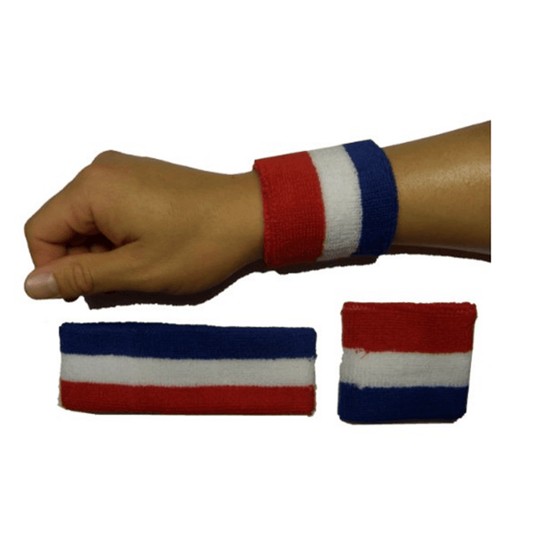 USA Wrist Bands & Head Band Combo