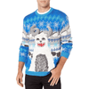 Ice Monster with Drink Pocket Ugly Christmas Sweater