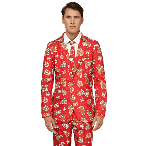 Jolly Gingerbread Man Christmas Suit