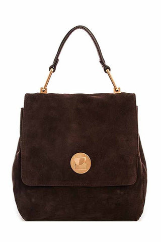 Avida Suede Satchel Bag