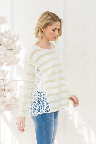 Kate Lace Knit Top