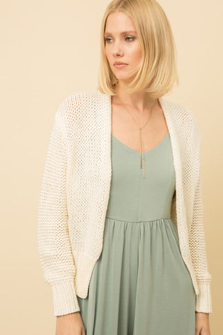 Ellis Summer Topper Cardigan
