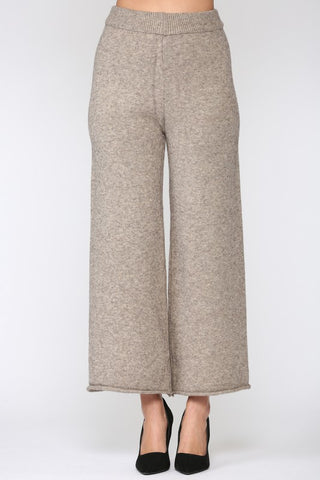 Arias Knit Pants - Mocha