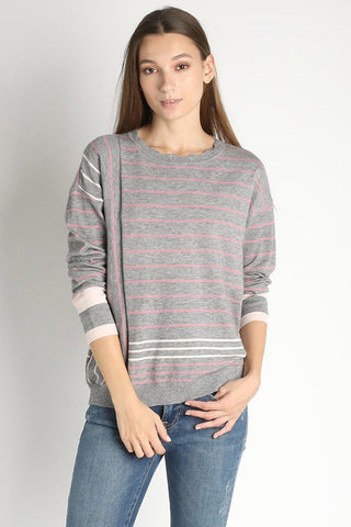 Irene Sporty Knit Sweater