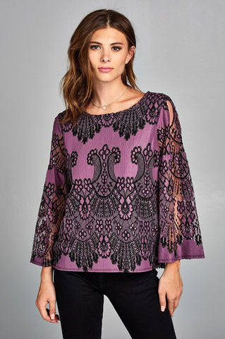 Sandra Dinner Blouse