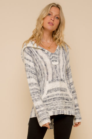 Soni Cashmere-Feel Hooded Sweater