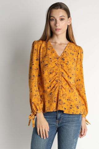 Patricia Ruched Panel Blouse