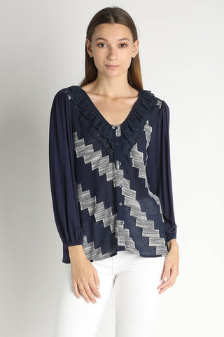 Joline Lady-Like Blouse