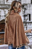 Natalia Teddy Cape Jacket