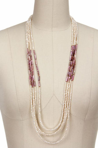 Getaway Multi Strand Long Necklace