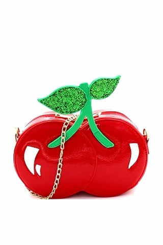 Trixie Cherry Crossbody Bag