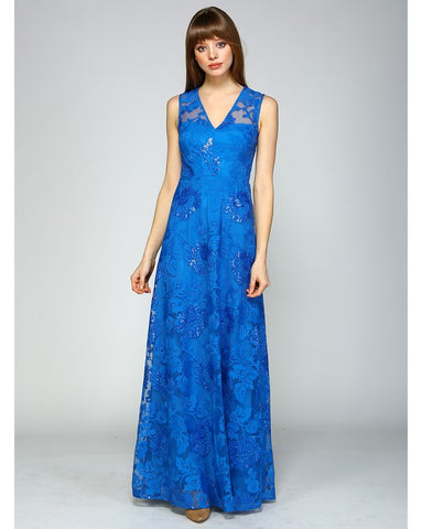 Azul Sequin Maxi Dress