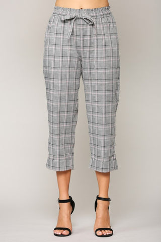 Wiley Plaid Pants