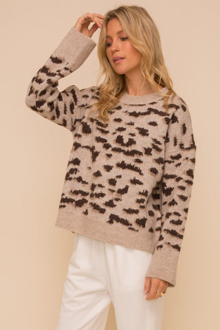 Yvette Find-the-Spot Sweater